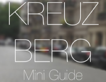 Kreuzberg Mini Guide making-of